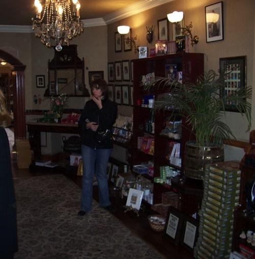 Primeira imagem dentro do Museu Sherlock Holmes