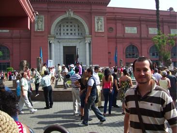 No Museu do Cairo
