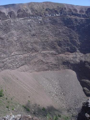 Pompéia, Itália: cratera do Vesúvio