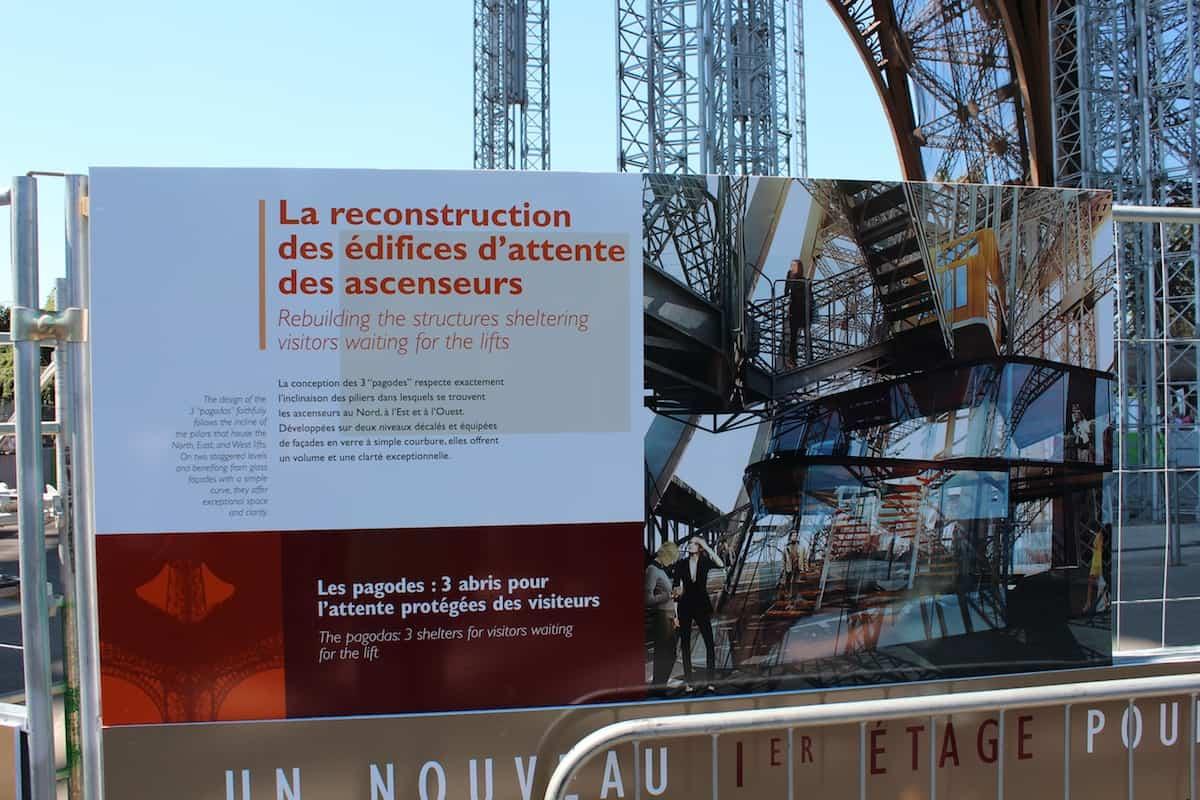Mudanças na Torre Eiffel