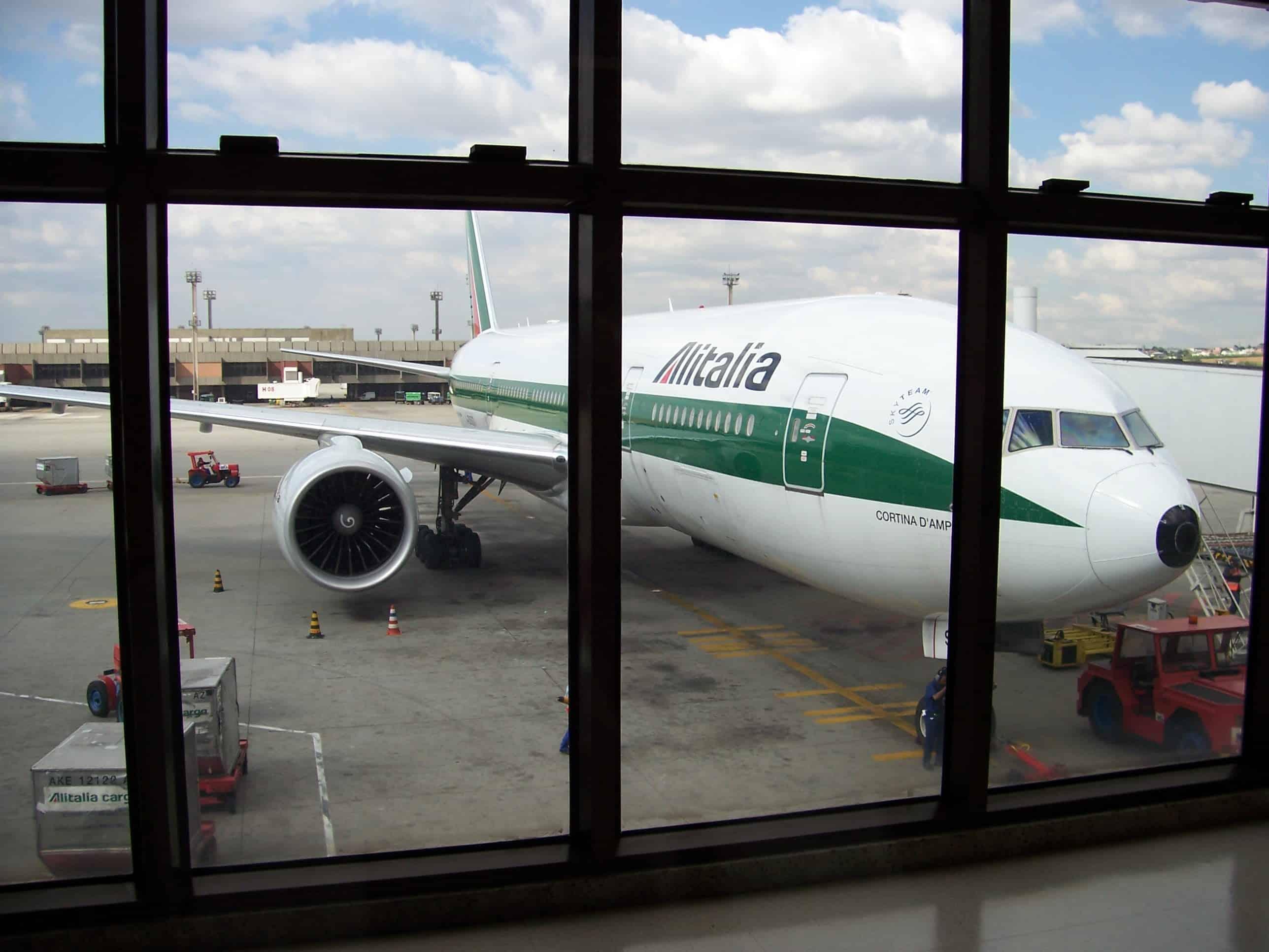 Voo pela Alitalia