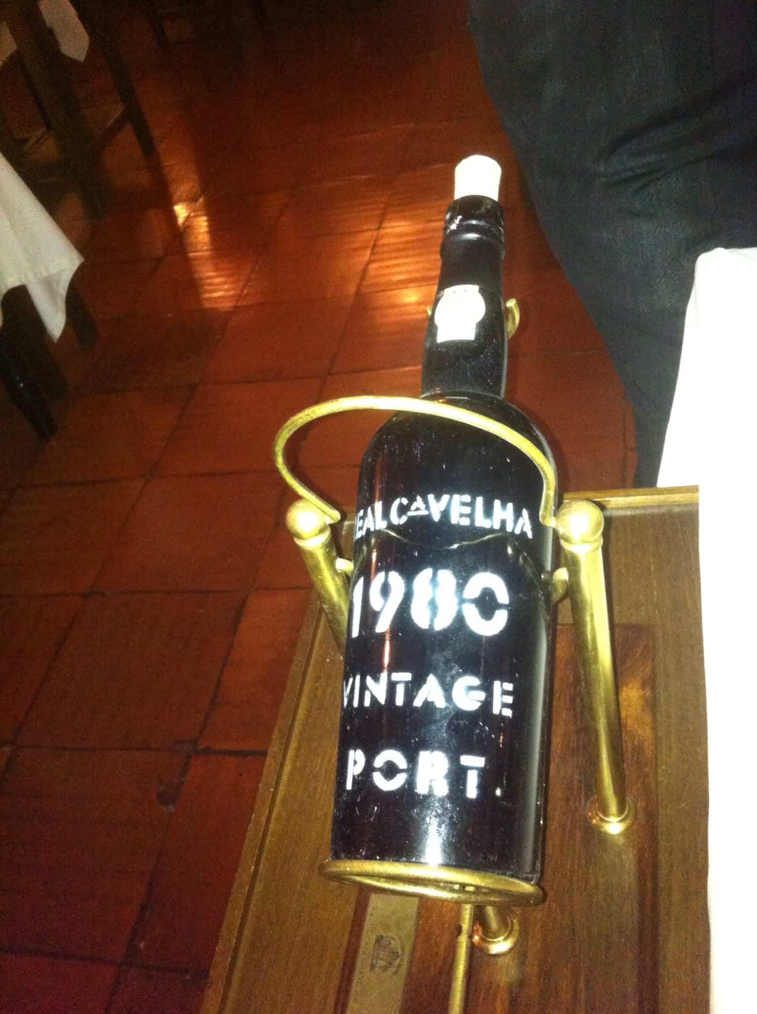 Vinho Vintage em Portugal