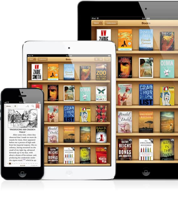 iBooks no OS X Mavericks