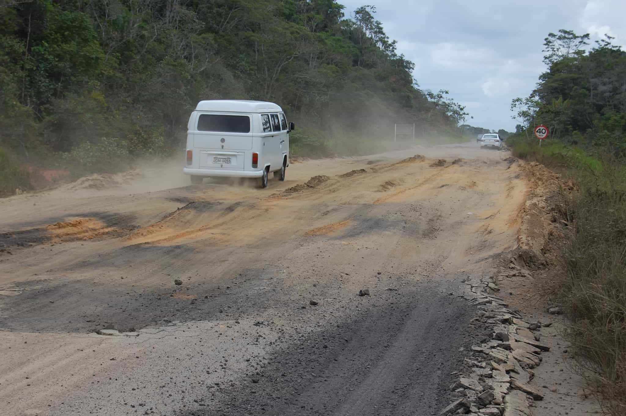 Estrada na Bahia