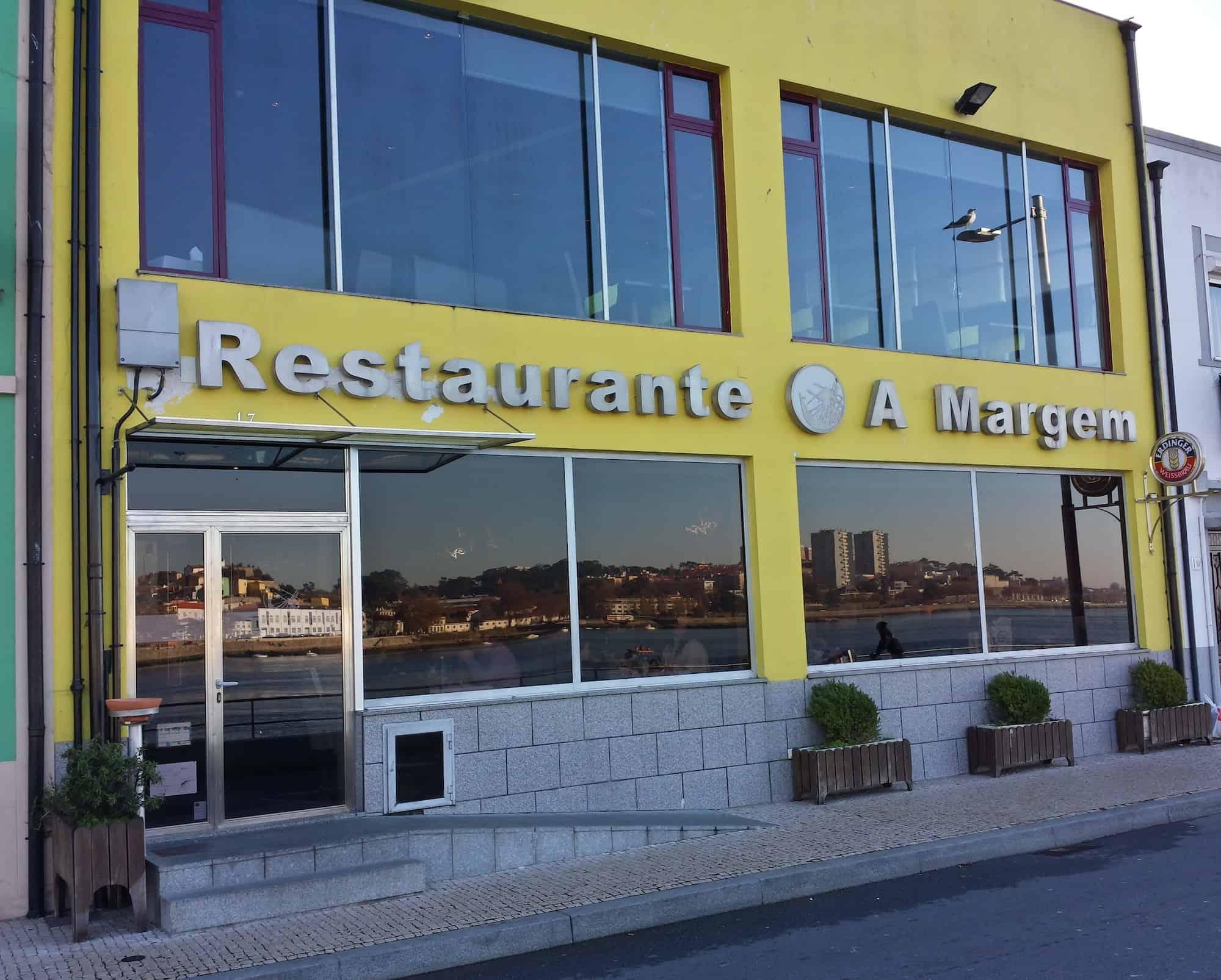 Restaurante A Margem, em Gaia, Portugal