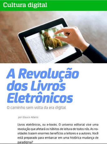 Revista iThing - A revolução dos livros eletrônicos