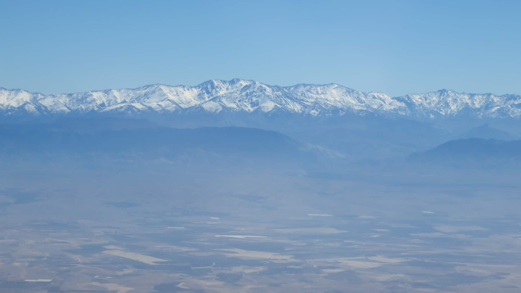 Marrocos visto do alto