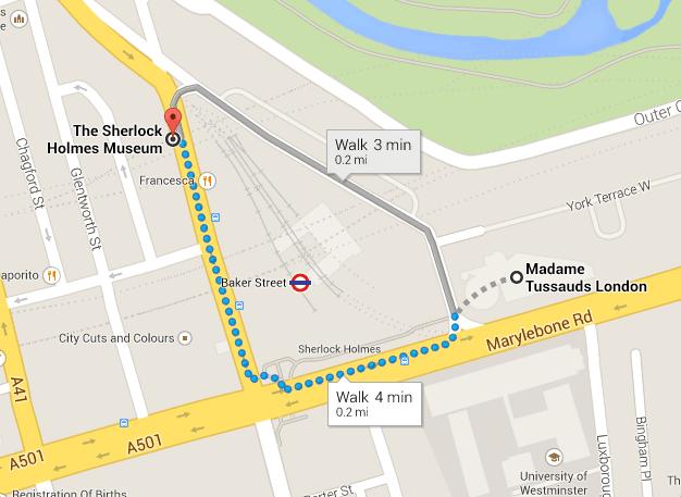 Madame Tussaud e Sherlock Holmes Museum