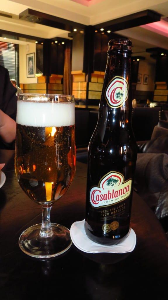 Cerveja em Marrocos