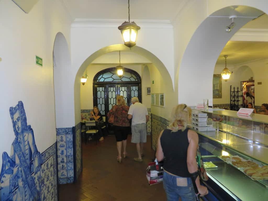 Pastéis de Belém, em Lisboa