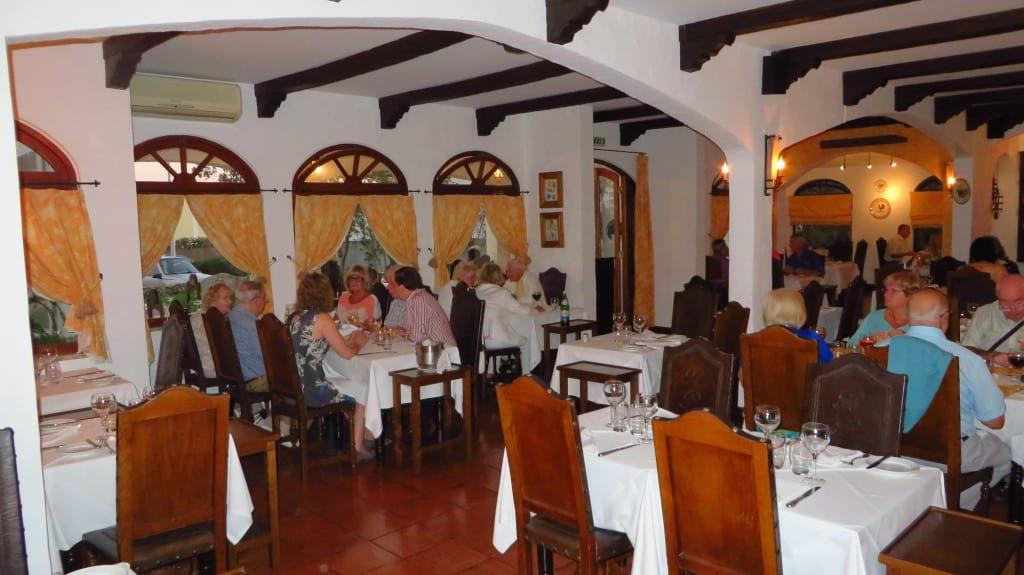 Restaurante Pôr-do-Sol, em Alvor, Algarve, Portugal