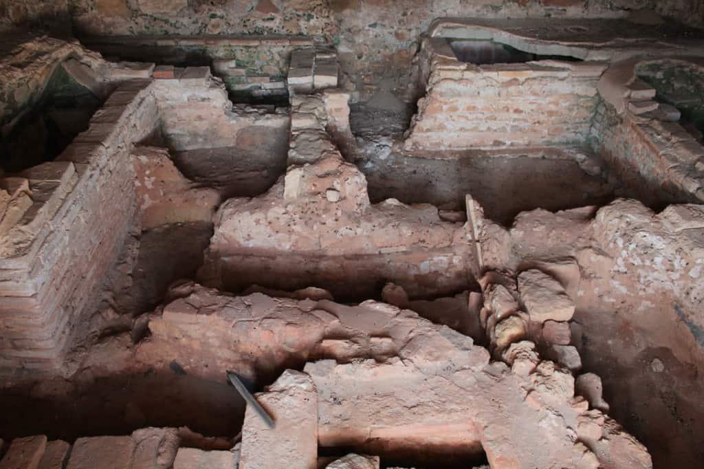 Ruínas romanas em Tróia, Portugal