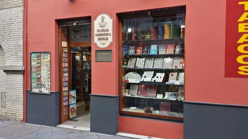 Filatelia e numismática em Sevilha: oportunidade para turistas