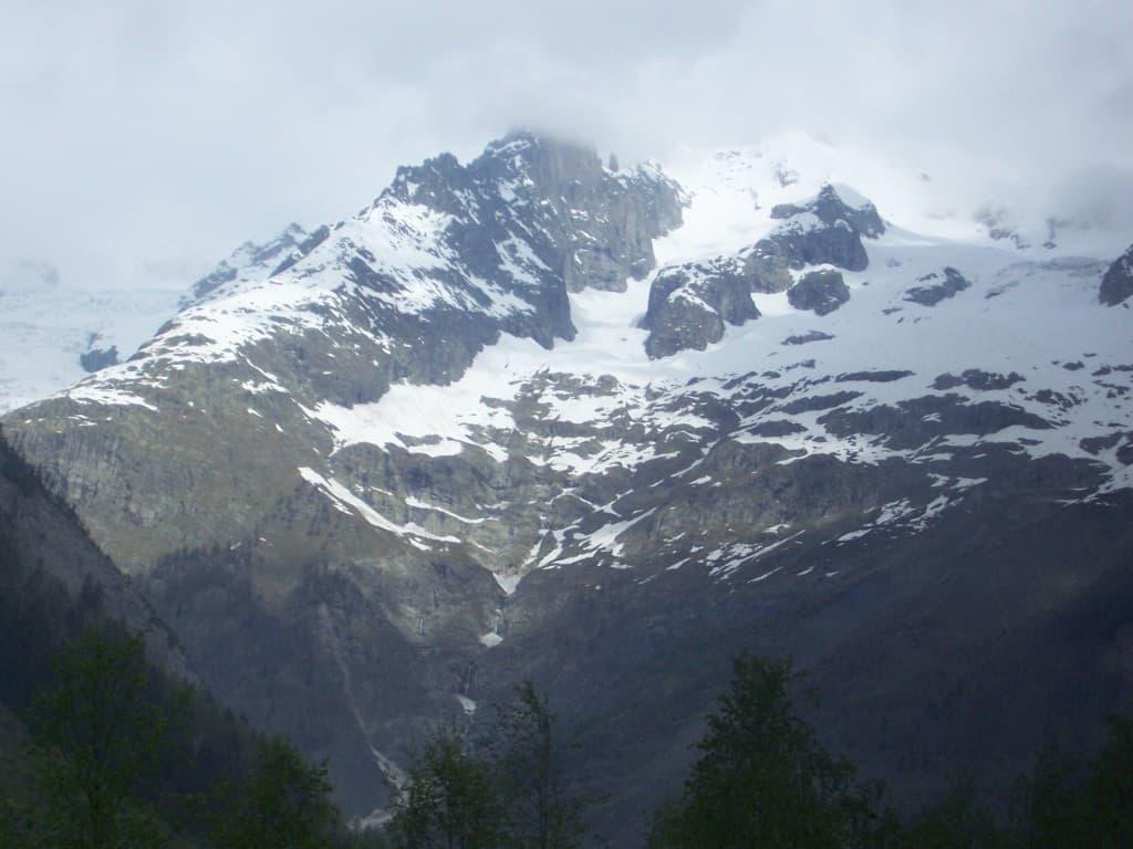 Viagem terrestre Itália-França: as zonas montanhosas dos Alpes