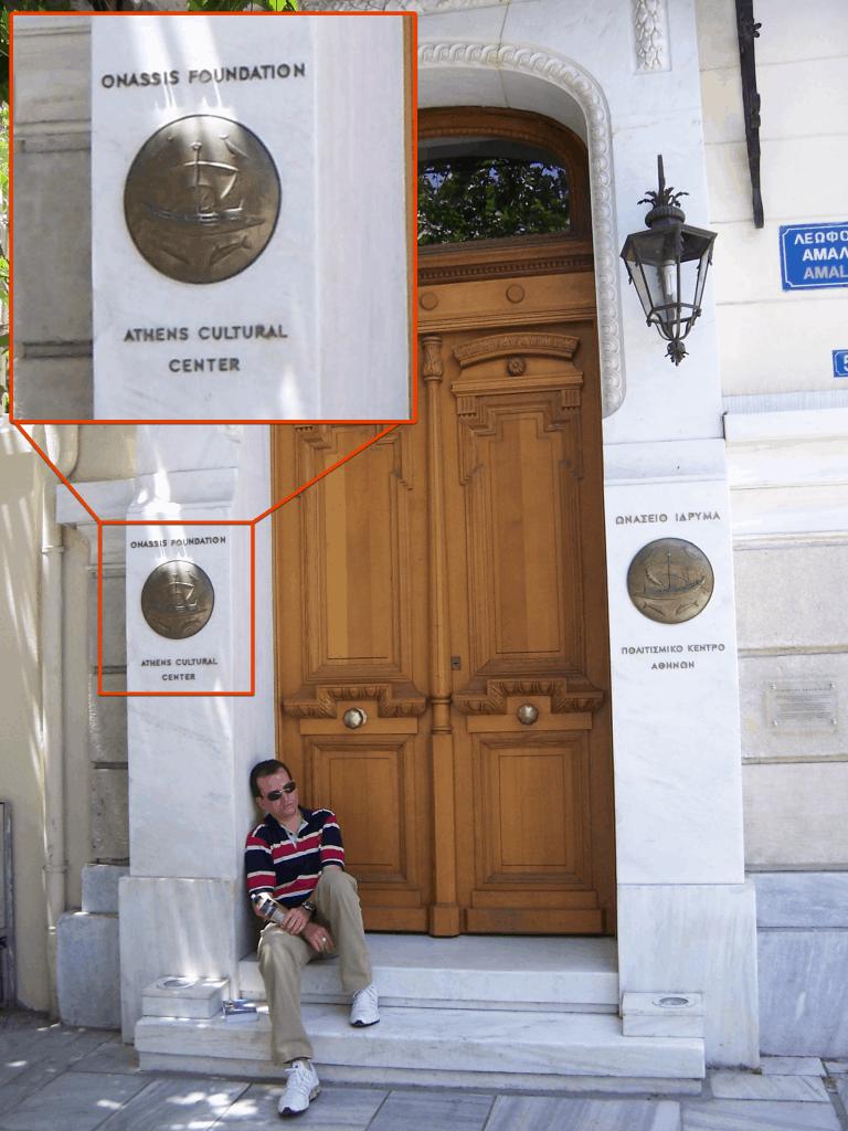 Na Grécia, o mendigo e o bilionário