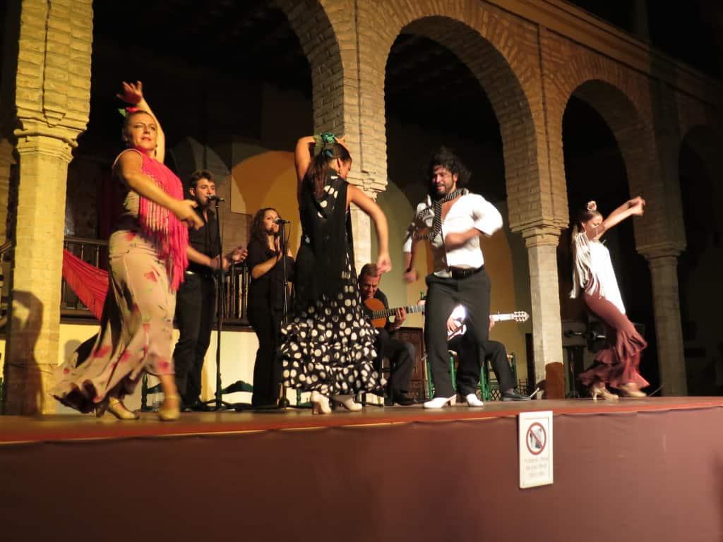 Show de dança flamenca em Córdoba (Espanha)