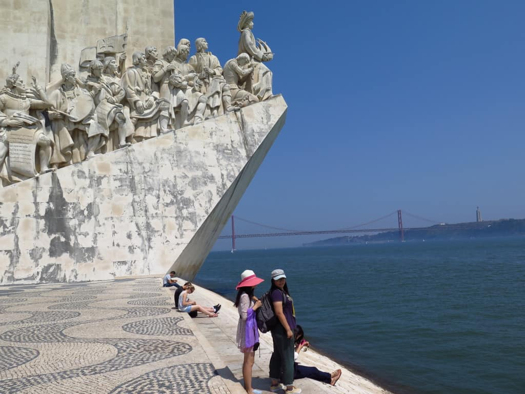 Padrão dos Descobrimentos, em Lisboa