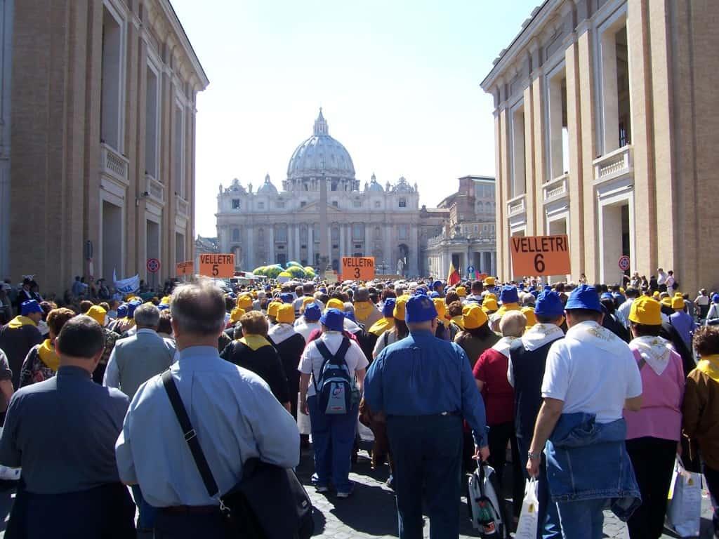 Procissão no Vaticano