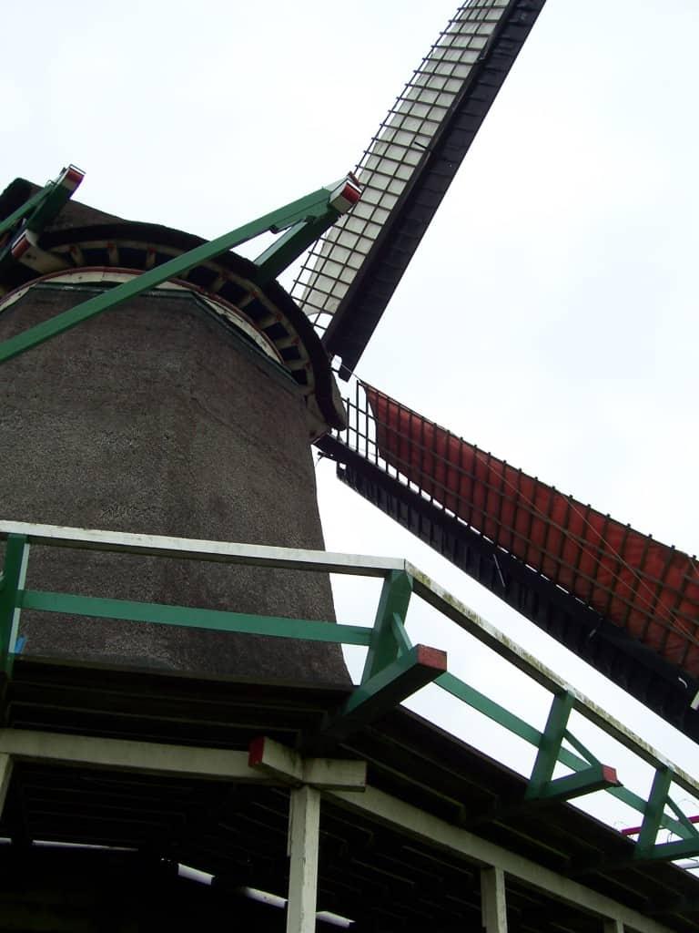 Moinhos de vento na Holanda