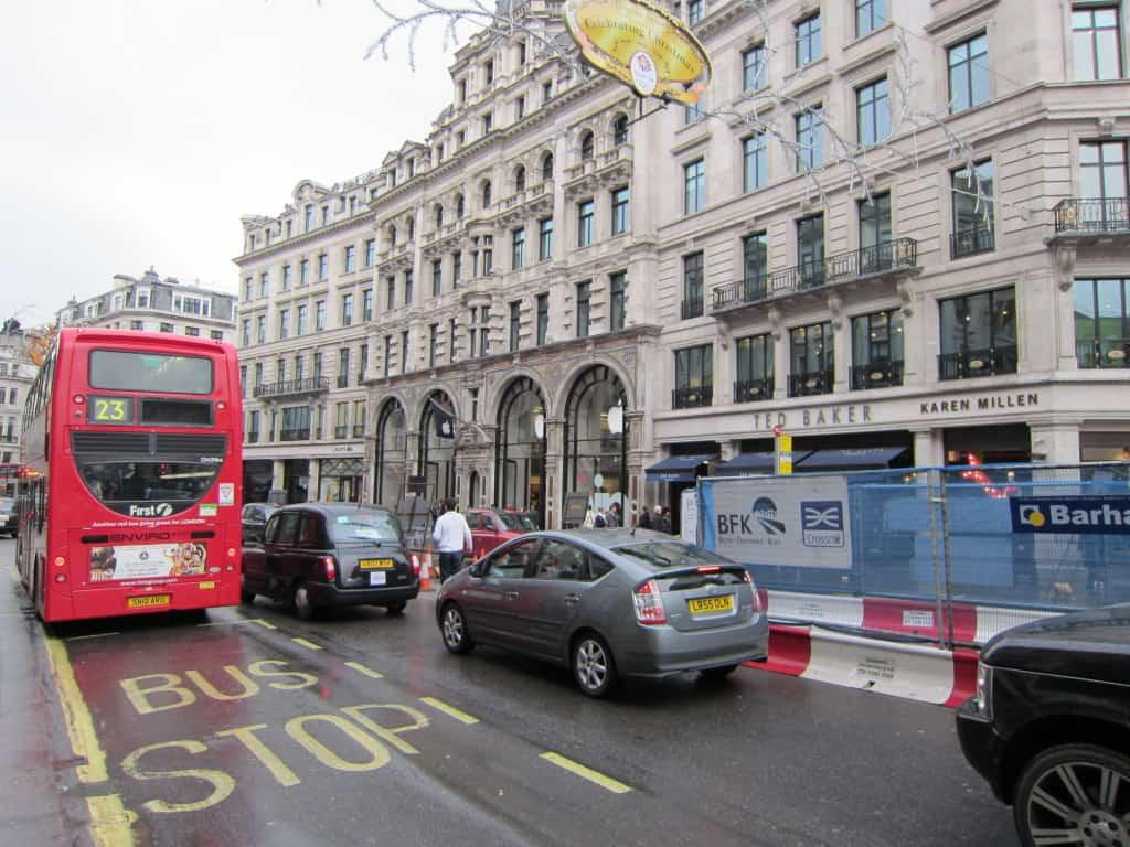 Apple Store na Regent Street, em Londres