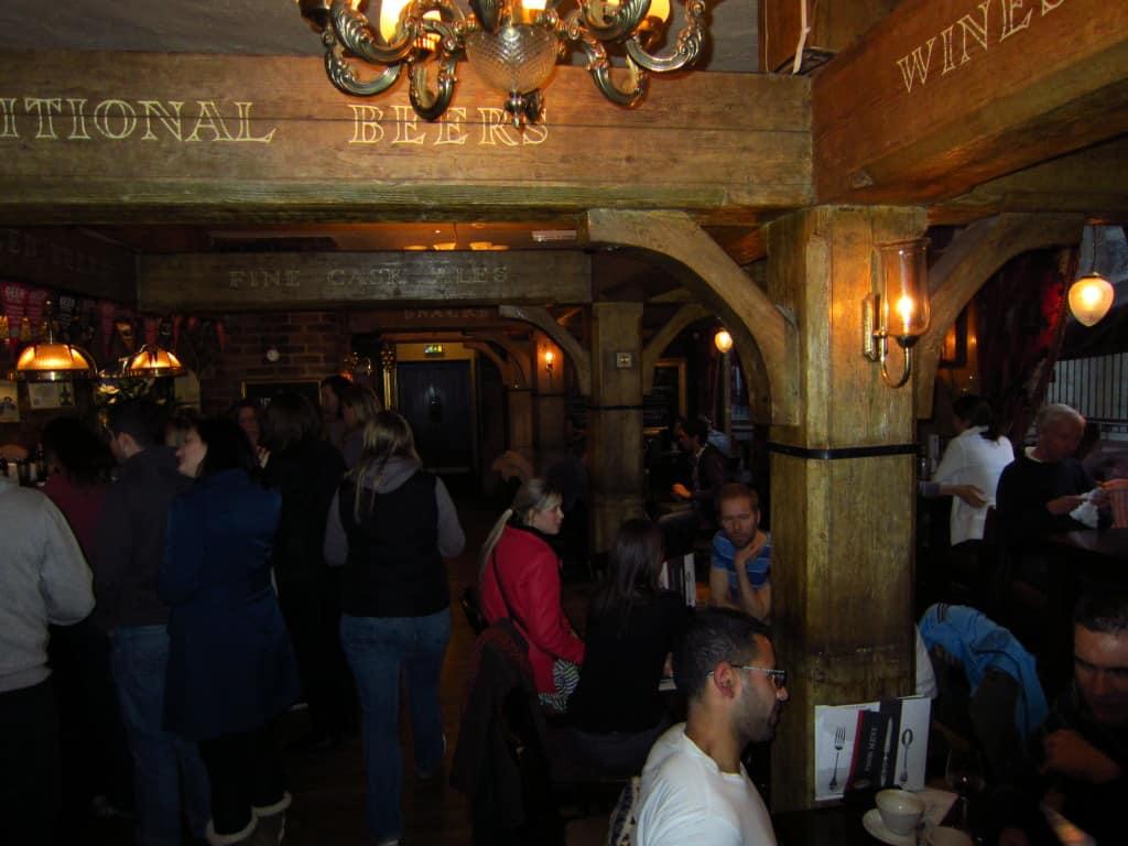 The Mudlark: ótimo restaurante e pub em Londres