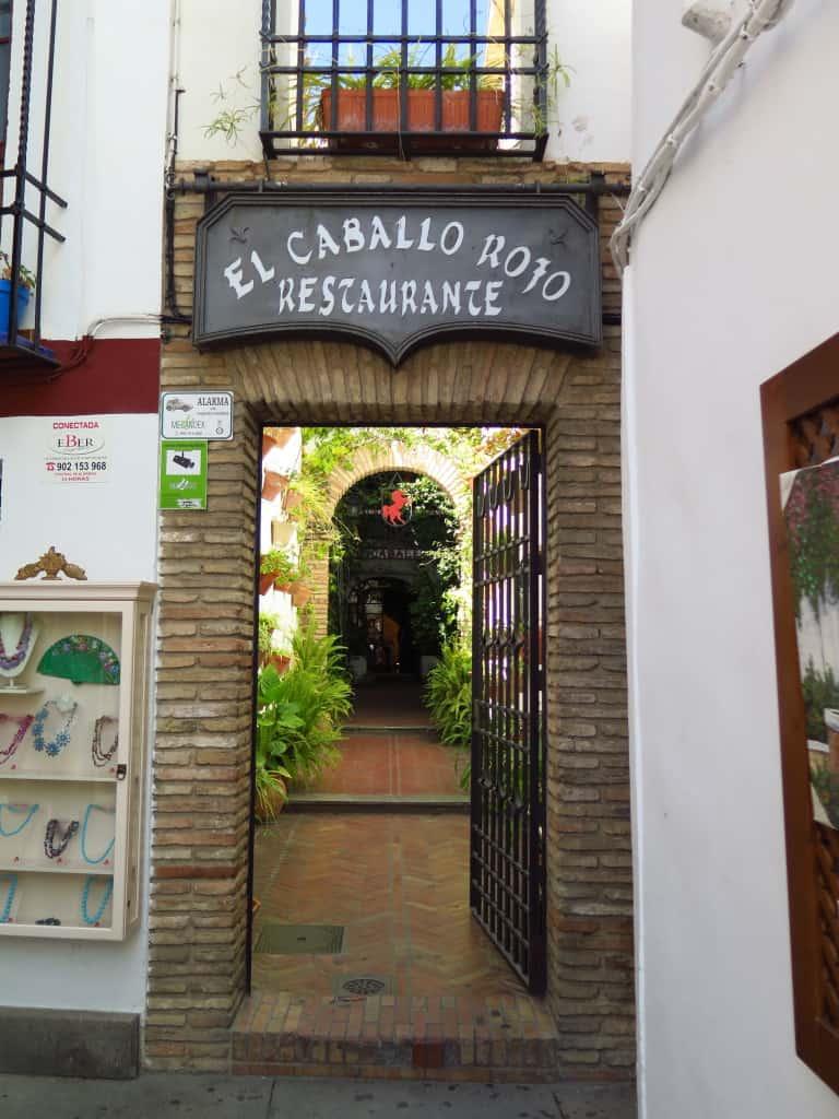 Restaurante El Caballo Rojo, em Córdoba (Espanha)