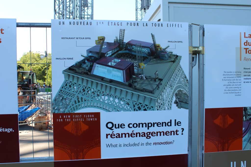 Torre Eiffel: inauguração do novo 1º piso