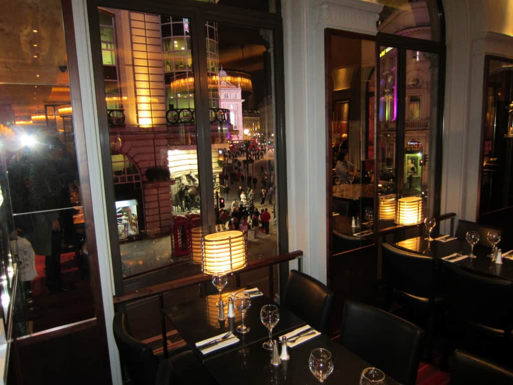 Aberdeen Steak House, em Piccadilly Circus, Londres