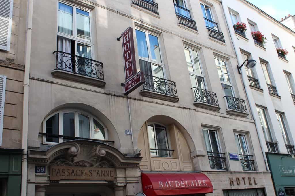 Hôtel Baudelaire Opéra, em Paris: especial para turistas espíritas