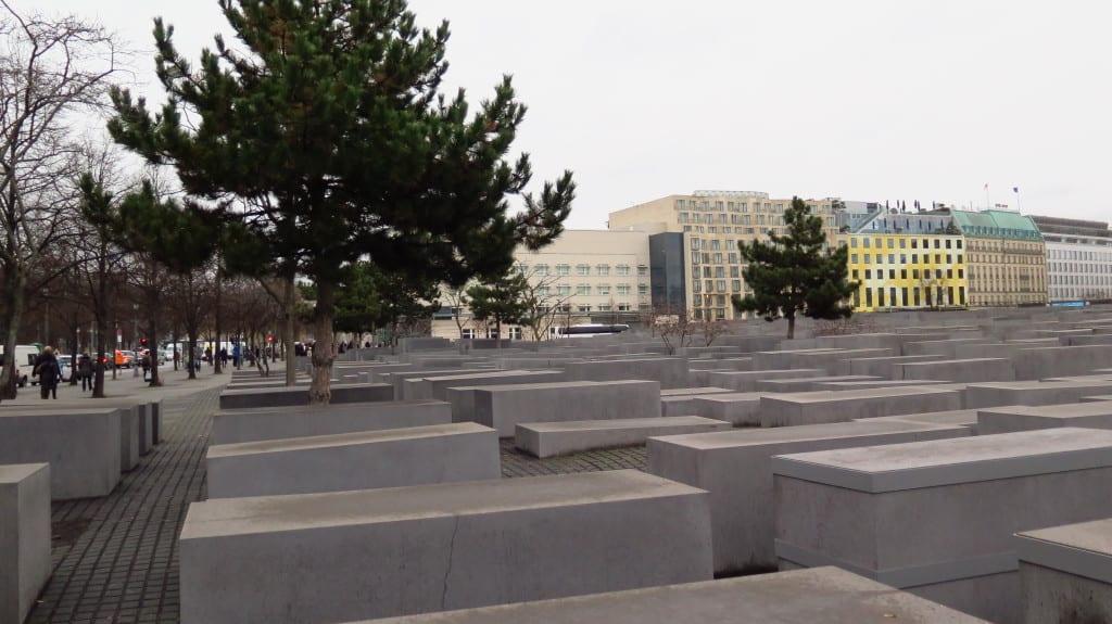 O Memorial do Holocausto, em Berlim