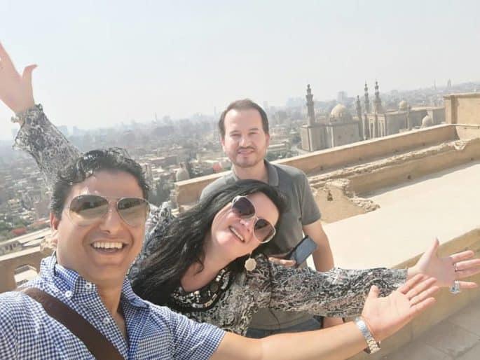 Avaliações dos turistas sobre o Meu Egito