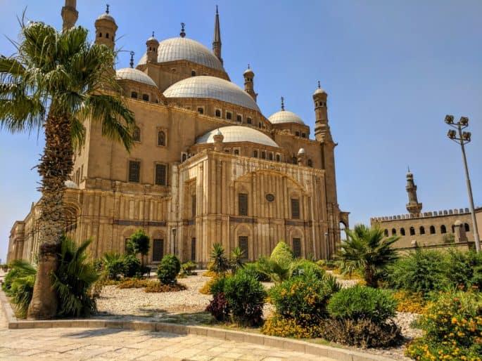 Mesquita de Alabastro, no Cairo