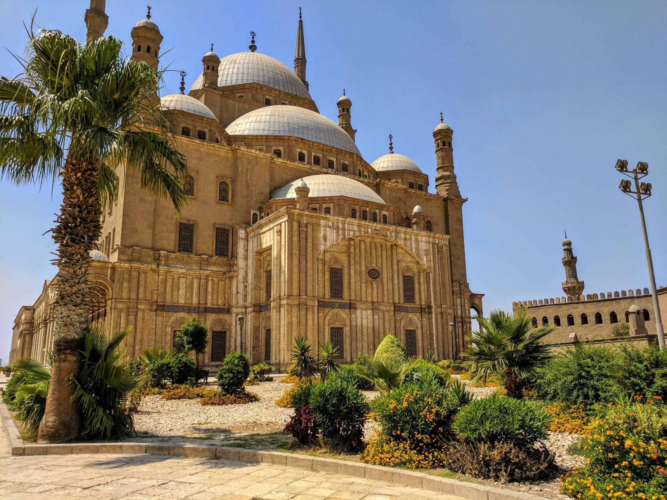 Mesquita de Alabastro, no Cairo.