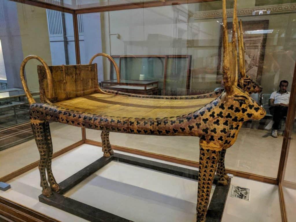 Cama mortuária de Tutancamon