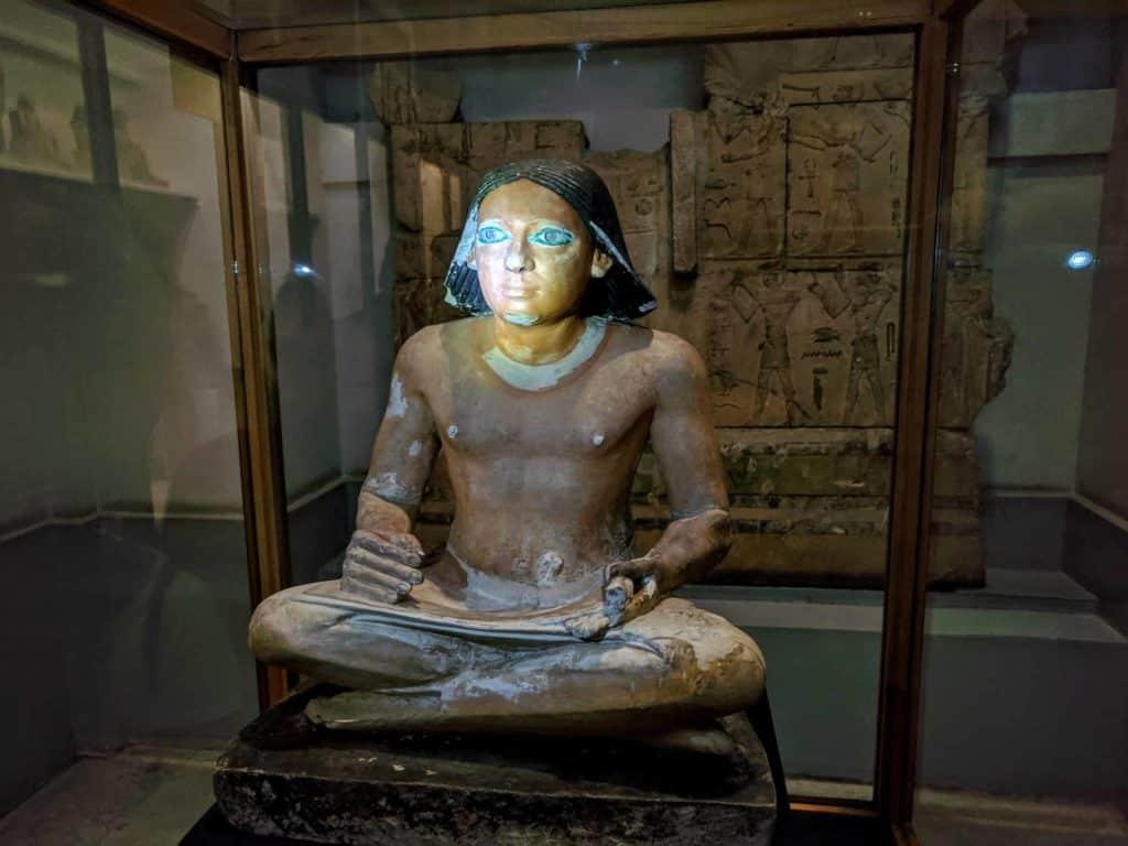 Interior do Museu do Cairo