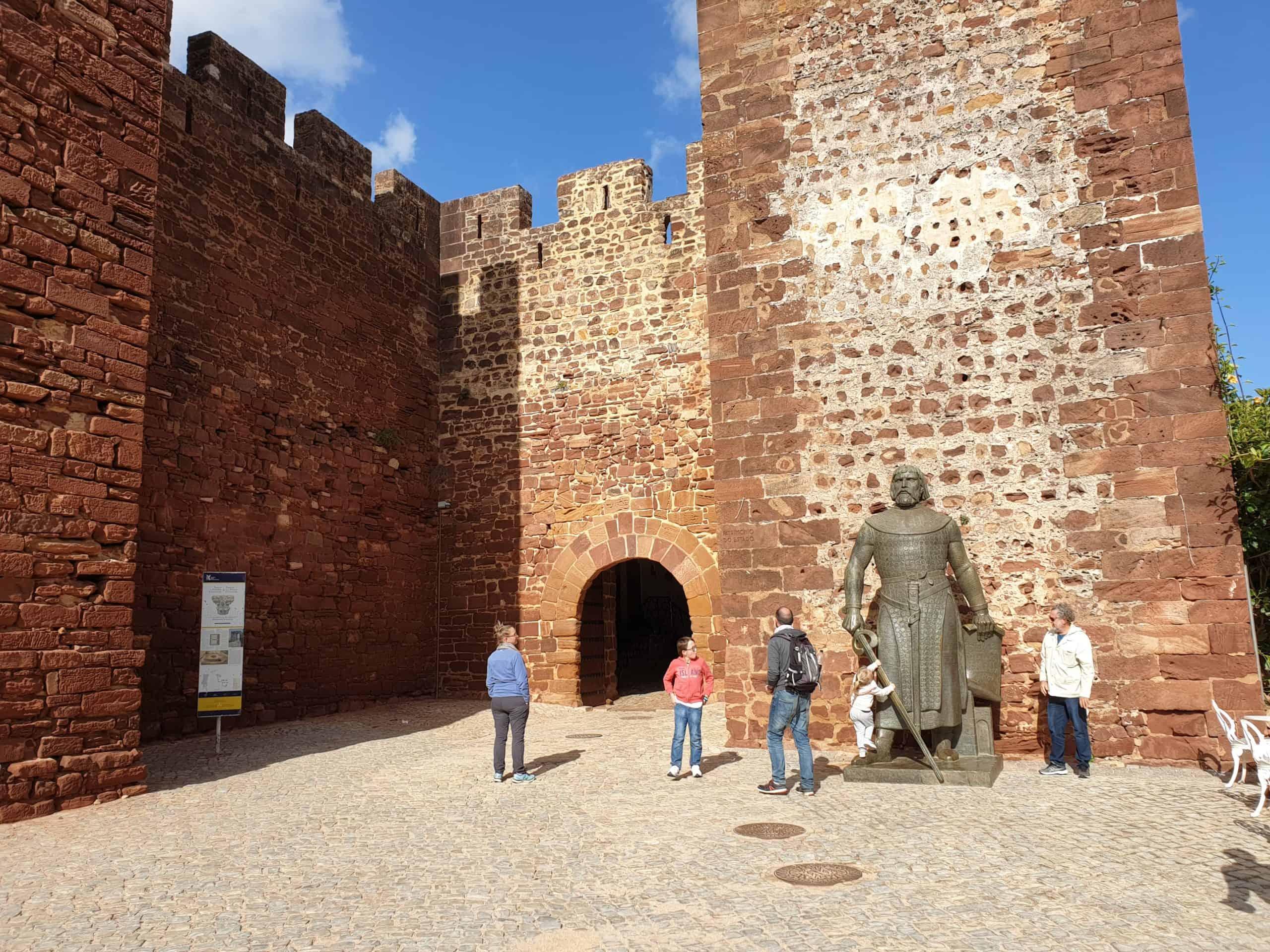 Castelo de Silves no roteiro para o Algarve