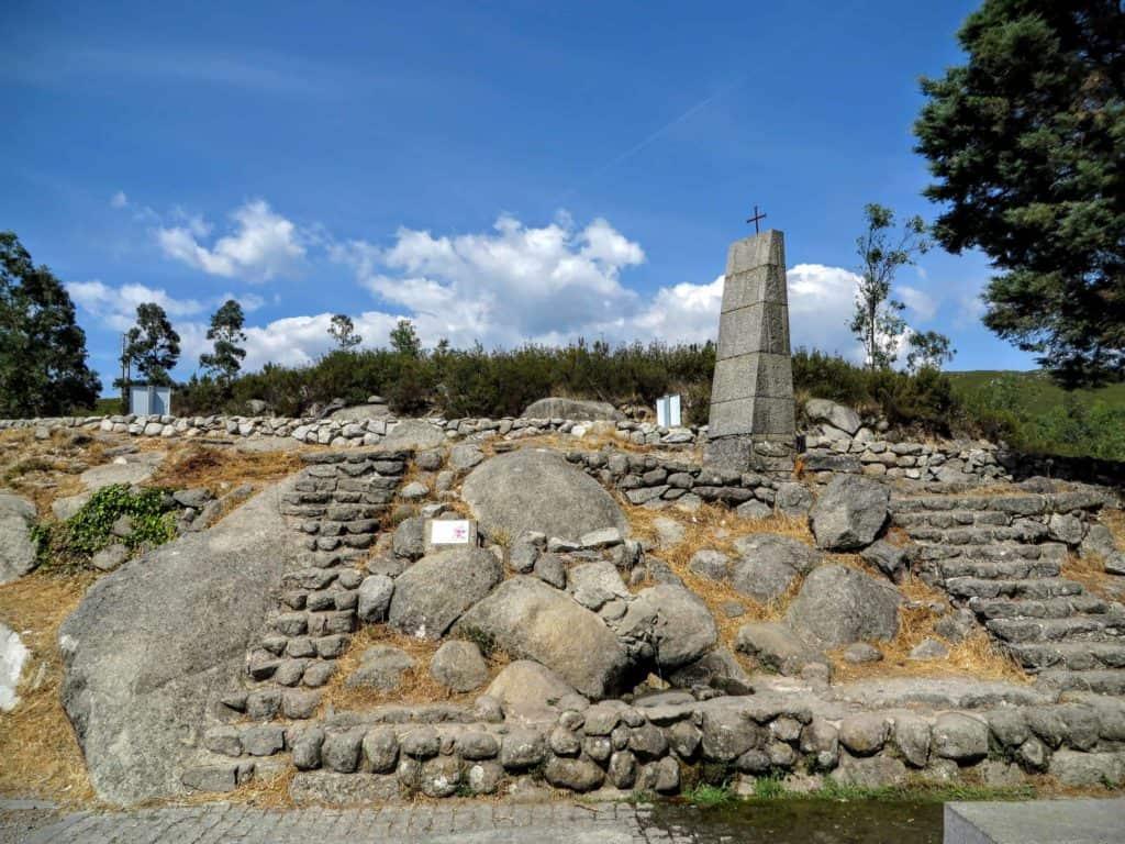 Fonte de água na Serra de Monchique
