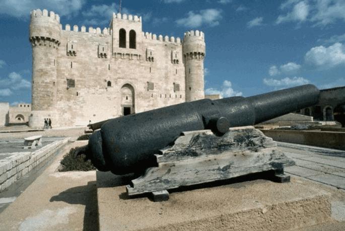 Exterior da Fortaleza de Qaitbay