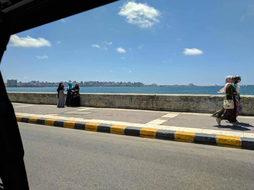 Rua em Alexandria