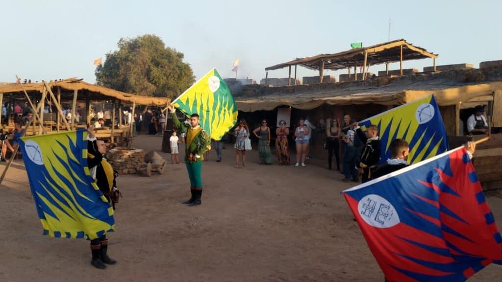Apresentação de bandeiras