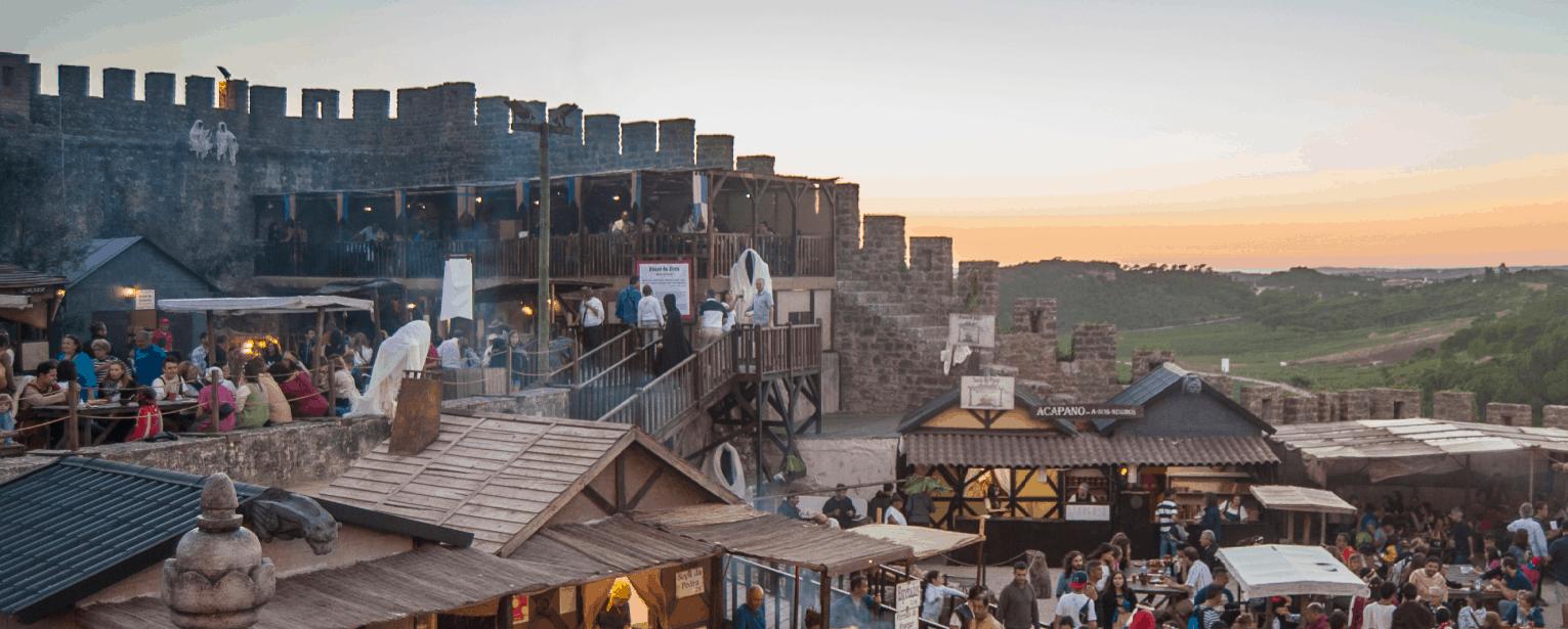 Feira Medieval em Óbidos