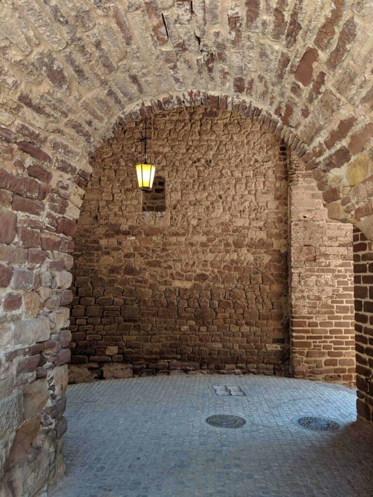 Interior das Portas da Cidade de Silves