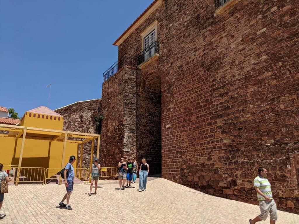 Lateral das Portas da Cidade de Silves