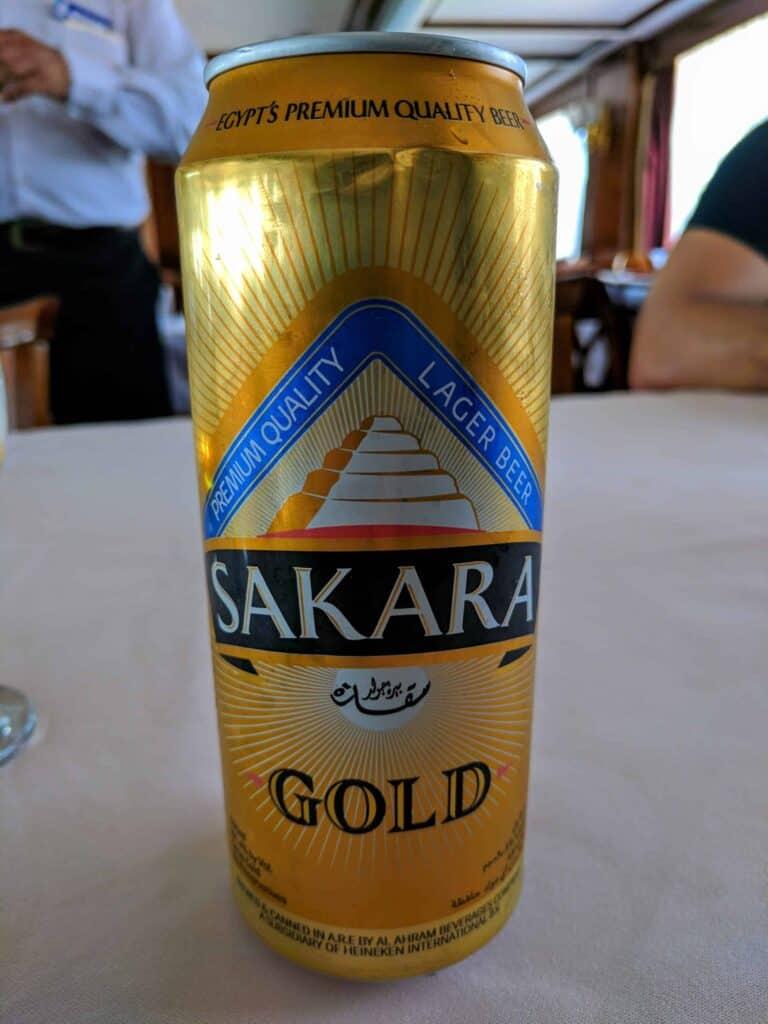 Cerveja egípcia.
