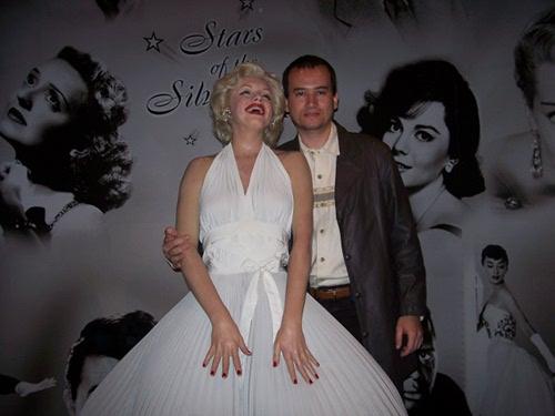 Marilyn Monroe no Museu Madame Tussauds: tem até calcinha.