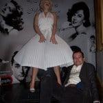 Eu espiei embaixo da saia de Marilyn Monroe. E vi a calcinha!