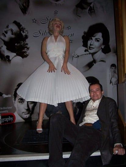 Marilyn Monroe no Museu Madame Tussauds: tem até calcinha!