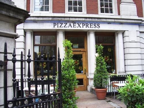 Pizzaria onde comi na Baker Street