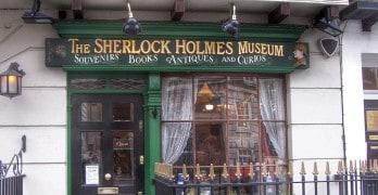 O Museu Sherlock Holmes, em Londres