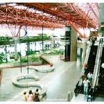 Vista do aeroporto de Brasília.